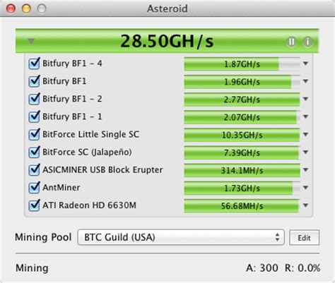 Software Mining Bitcoin mining bitcoin and litecoin on mac os x with asteroid