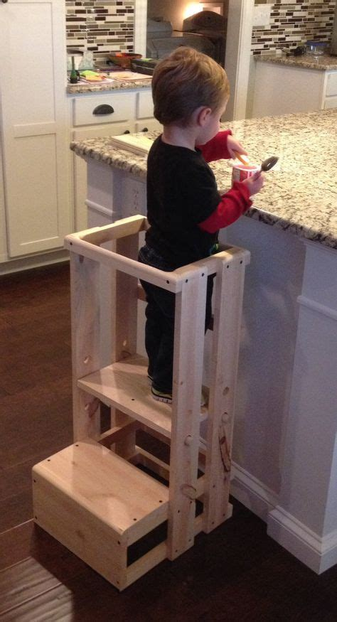 Toddler With Stool by 17 Best Ideas About Kitchen Helper On Baby
