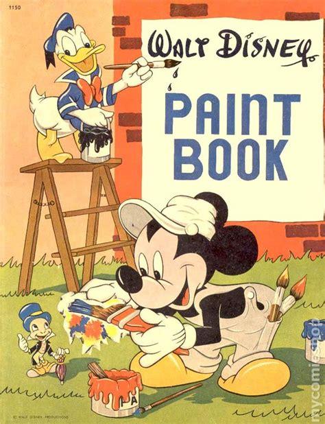 disney picture book walt disney paint book 1949 comic books