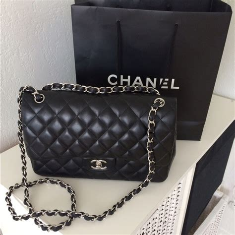 Ode To Kates Jumbo Chanel Flap 24 chanel handbags chanel jumbo flap bag