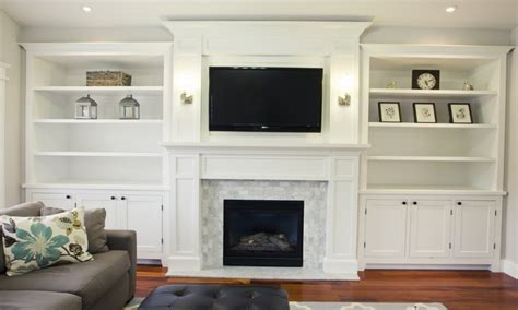 diy built in bookcases around fireplace dining room cabinets ideas built in bookcases around