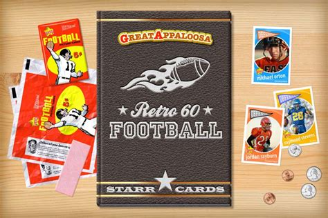 how to make your own football card custom football cards retro 60 series cards