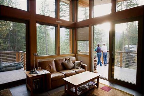 modern homes interiors modern day mountain cabins