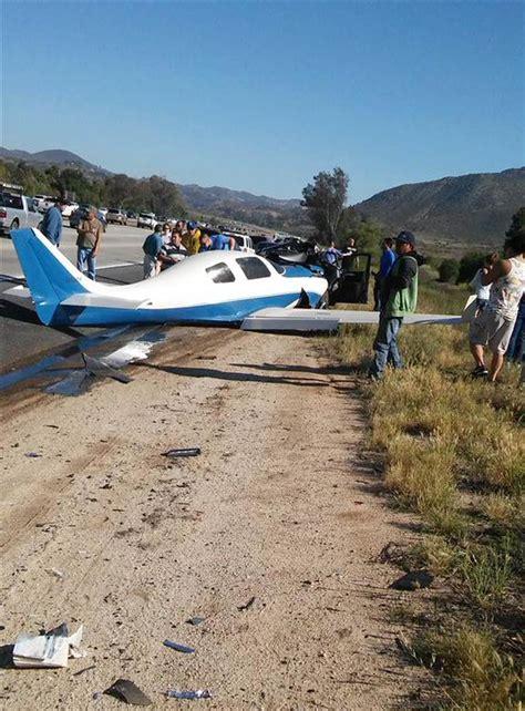 plane crash plane crashes onto san diego california area freeway