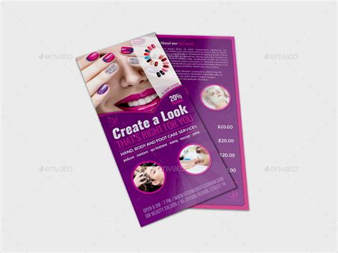 flyer templates nail salon 13 nail salon flyer templates free premium download