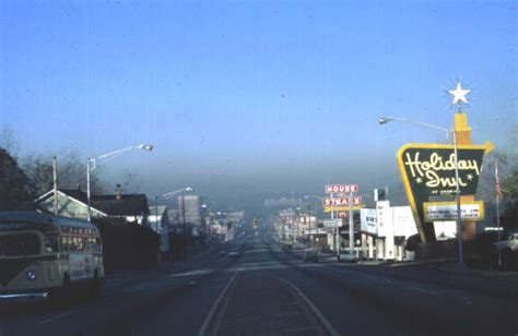Tallahassee Court Records Florida Memory View Looking West On Tennessee From Bronough At Smog