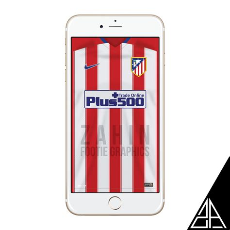 Iphone 7 Atletico Madrid Home Nike Hardcase atletico madrid 2015 16 zahin footie graphics