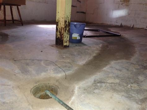 basement floor drain floor drain yes sump no