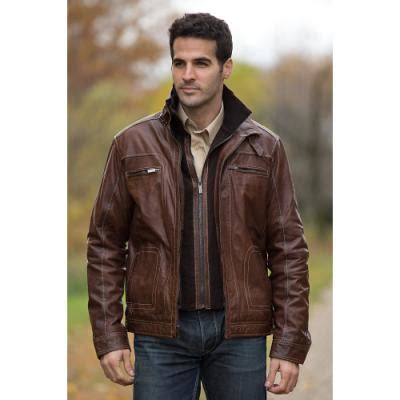 Jaketexpress Boomber Brown Jacket Boomber brown leather bomber jacket overland sheepskin co lambskin leather bomber jacket