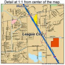 league city map 4841980