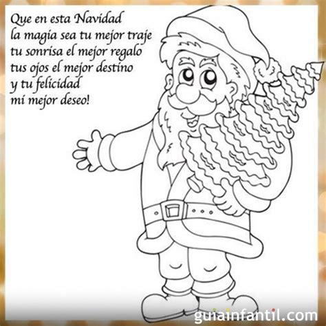 imagenes de navidad para dibujar con frases dibujo de pap 225 noel para imprimir con frase de navidad