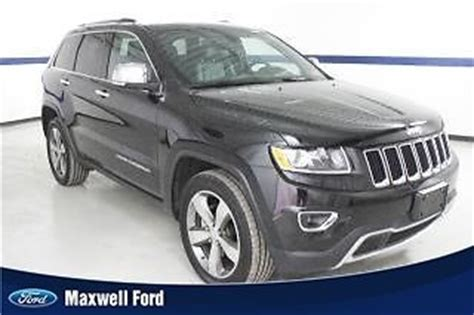 comfortable 4x4 sell used 14 jeep grand cherokee 4x4 limited comfortable