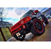 Hummer H3 Dual Color Oracle Halo Headlight Rings And