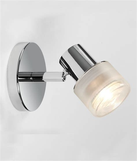 Chrome Adjustable Single Spot Light For Bathrooms Bathroom Spot Lighting