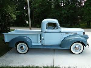 1945 chevy trucks
