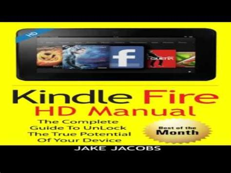kindle tutorial online kindle fire hd user manual the complete user guide with