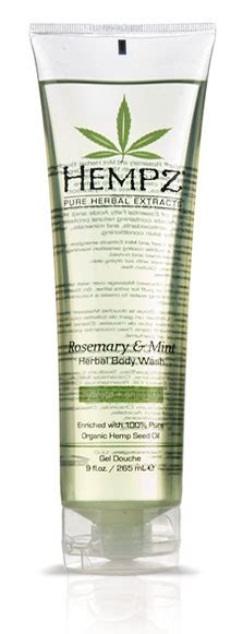 hempz rosemary amp mint body wash from lotion source