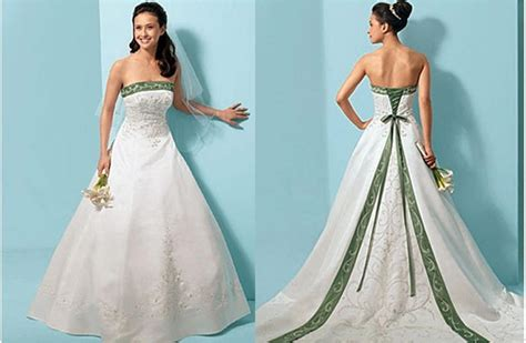 bridal style and wedding ideas green wedding dresses