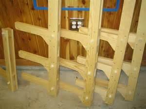 Lumber Racks For by Best 25 Lumber Storage Rack Ideas On Wood
