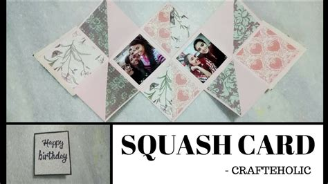 squash card template diy squash card birthday card diy greeting cards greeting