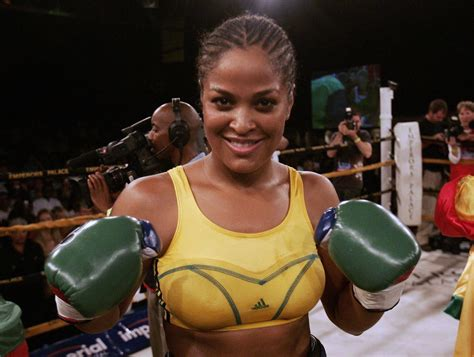 Jr Layla laila ali sees mayweather as boy and broken
