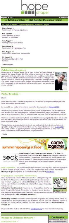 email bulletin template email marketing on email marketing email