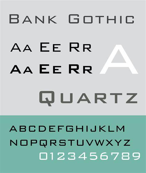 bank font bank
