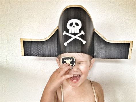 Handmade Pirate Hats - diy ahoy handmade
