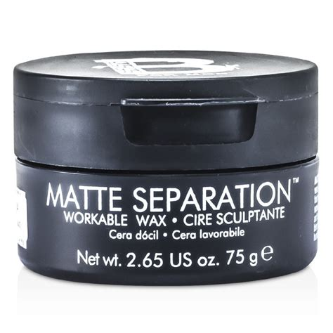 bed head matte separation wax tigi bed head b for men matte separation workable wax 75g