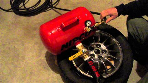 how to seat a tire bead seating a tire bead with a bead seater