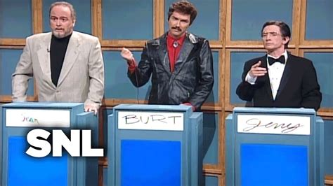 snl celeb jeopardy sean connery full episodes celebrity jeopardy sean connery burt reynolds jerry