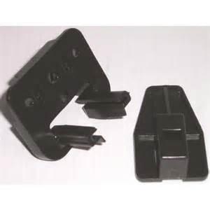 kenlin brown plastic drawer guide and stop repair kit rite