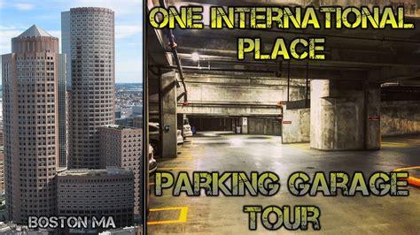 International Place Garage Boston one international place garage tour boston ma
