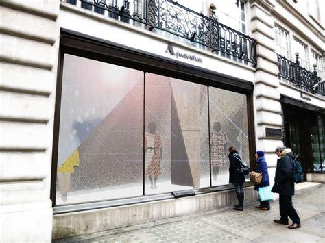Hoss Intropia On Regent St by Preview Regent Window Project Londonist