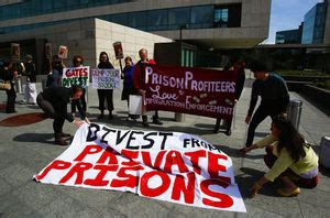 protesters want gates foundation to stop investing in