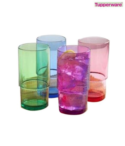 Deluxe Tumbler4 tupperware deluxe tumbler set of 4 available at snapdeal for rs 1207