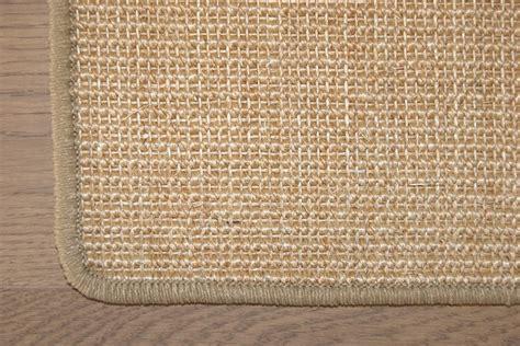 teppiche naturfaser sisal teppich 100 sisal naturfaser sisalteppich gekettelt