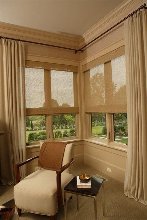 Corner Window Curtains » Home Design 2017