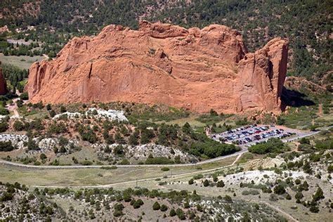 Usps Garden Of The Gods by Airphoto Aerial Photograph Of Garden Of The Gods Park