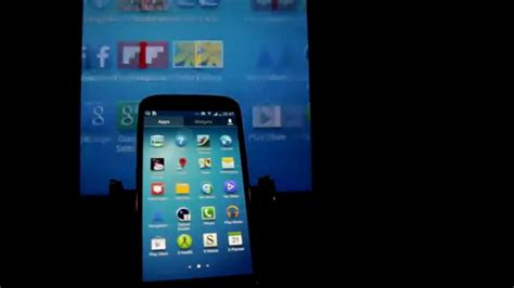 Miracast Screen Mirroring by Miracast Screen Mirroring Demo On Samsung Galaxy S4 Amp Lg