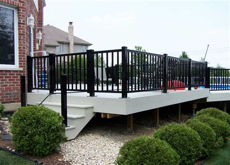 build a house unblocked aluminum deck railings with black color ideas home interior exterior