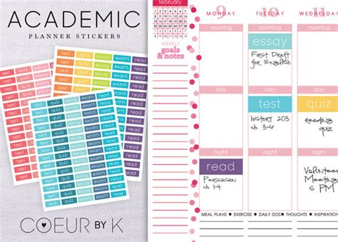 printable university planner a b o u t organize your student planner or calendar