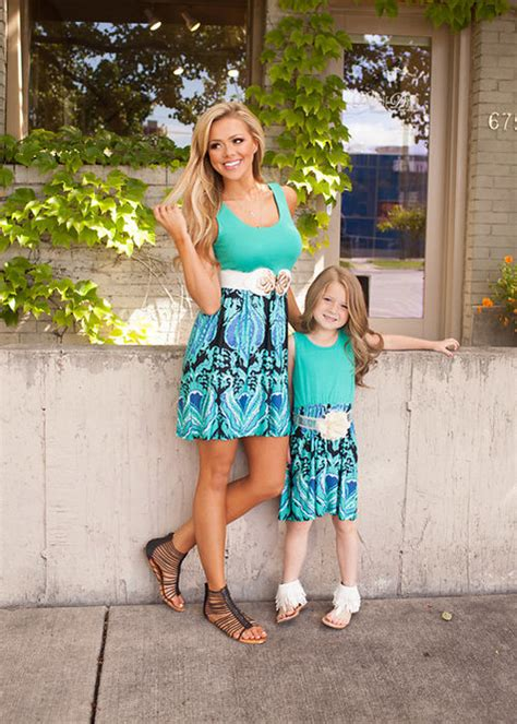 mommy and me outfits matching mother daughter clothing 2017 summer mother and daughter dresses floral print mommy
