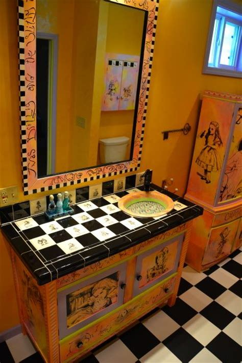 alice in wonderland bathroom set alice in wonderland bathroom everything alice pinterest