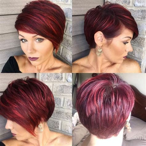 hair styles while growing out inverted cuts best 25 pixie cut back ideas on pinterest