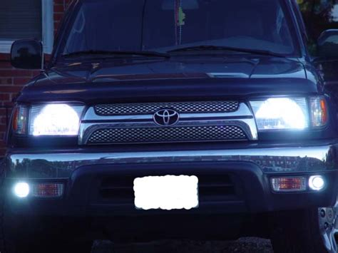 1997 toyota 4runner fog lights 1999 4runner limited stock foglights not working toyota