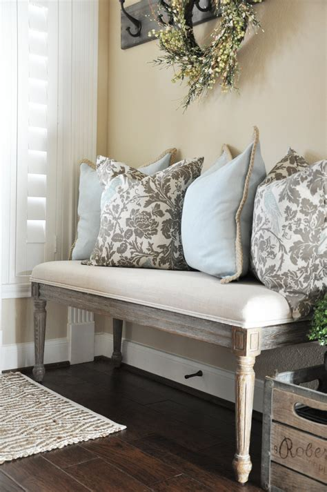 entry bench ideas my house favorites entryway bench throw pillows and bench