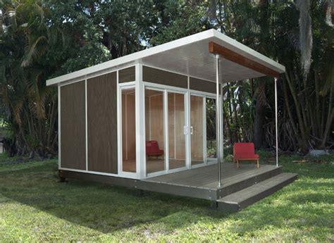 zip cabin modern prefab studios  cabin fever