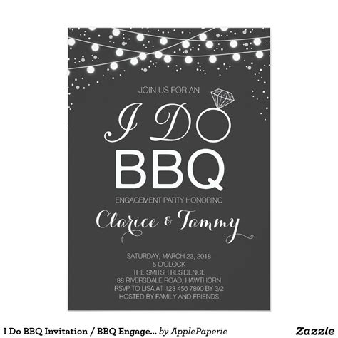 bbq invite template engagement bbq invitations pit design ideas