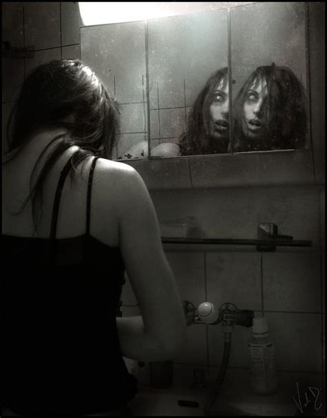 scary things to do in the bathroom mirrors valentinakallias dark picture lover of darkness